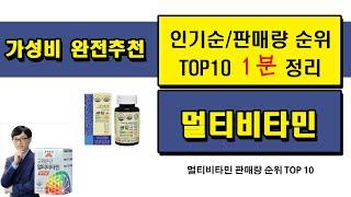 멀티비타민 - 2021년 1분기 트렌드 인기상품 인기순…