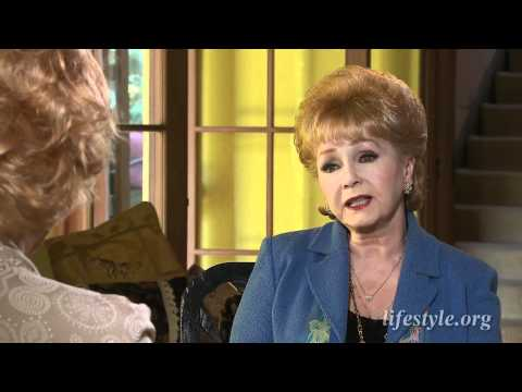Debbie Reynolds  with Ruta Lee for Lifestyle Magazine