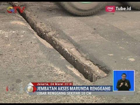Waspada!! Jembatan Akses Marunda, Cilincing Renggang Sekitar 10 Centimeter - BIS 25/03 Mp3