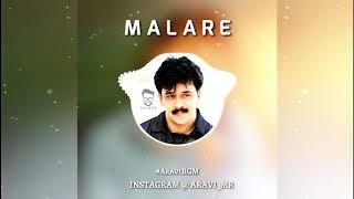 Malare Mounanama Flute bgm Status Video / AraviBGM