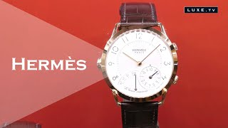 Hermès : l'art de la montre tout en émotion