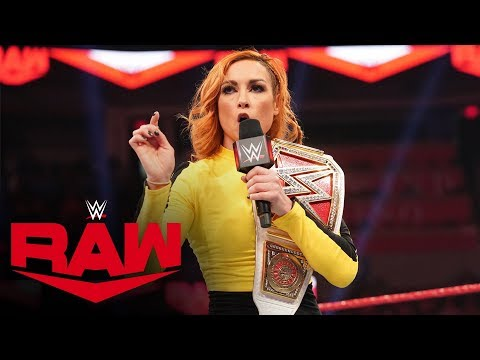 Becky Lynch Punches Asuka In The Face: Raw, Jan. 6, 2020