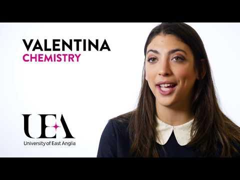 Chemistry – Life as an Undergraduate Student at UEA – Valentina