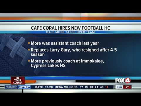 New head football coach at Cape Coral High School