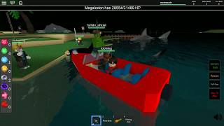 Roblox-KILLER SHARKS! (Shark Attack)