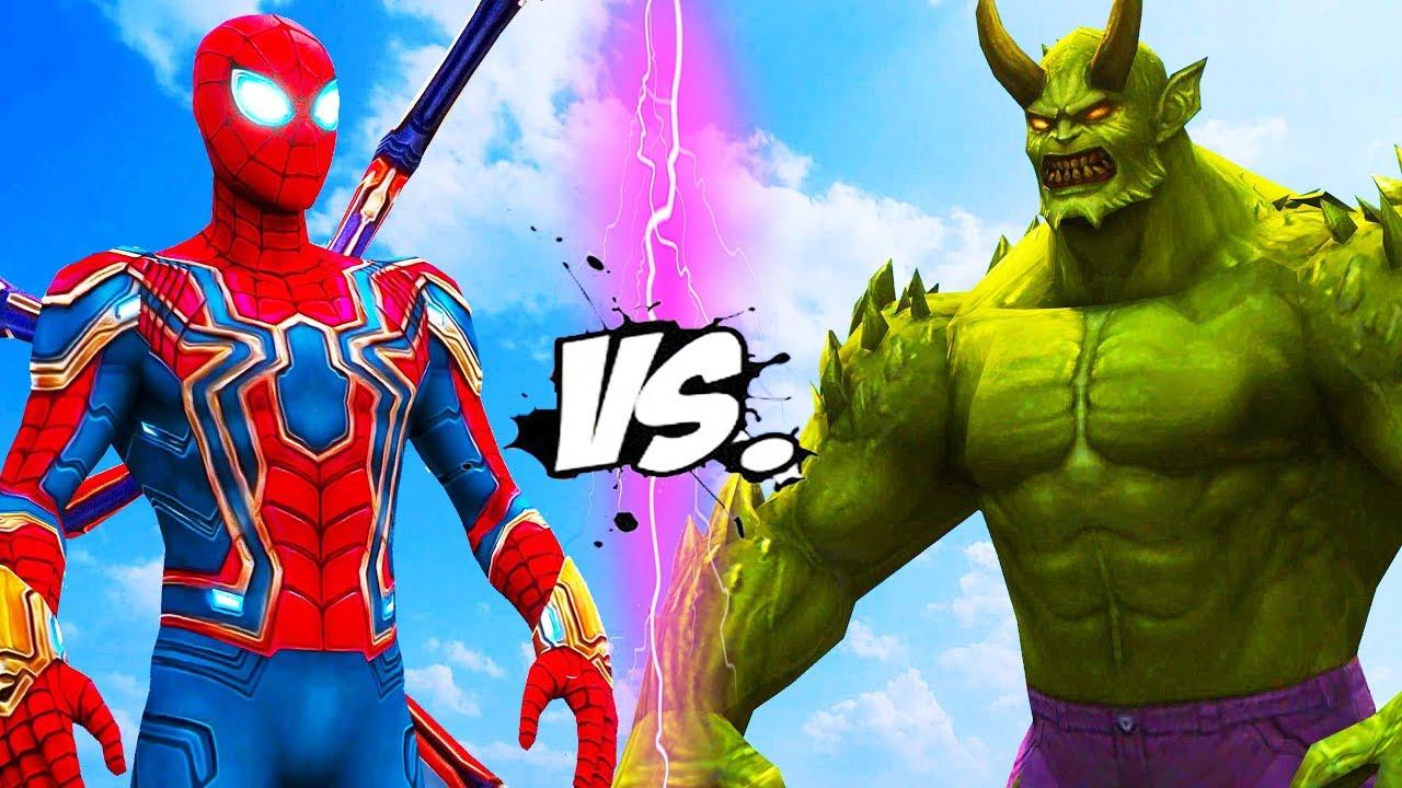 Venom Spiderman Kleurplaten.Iron Spider Vs Ultimate Green Goblin Youtube