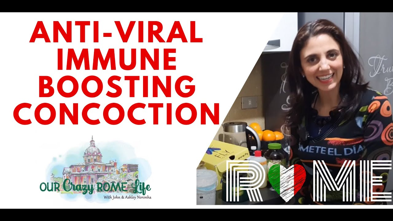 Anti-viral Immune Boosting Drink!