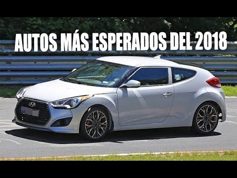 5 AUTOS MS ESPERADOS DEL 2018