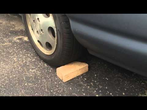 Putting Bricks Behind a Front Wheel Drive Car