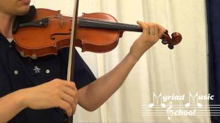 Suzuki Violin Book 2 - Number 9 - Gavotte from Mignon