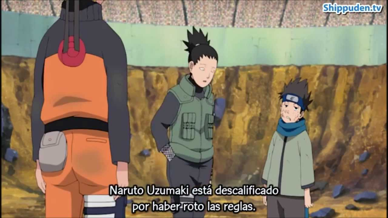 Ova 9: Naruto vs Konohamaru (Examenes Chunin) HD - YouTube