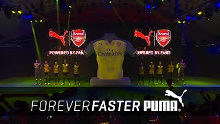 PUMA Reveal 2015/16 Arsenal Away Kit Through Spectacular Fan Show in Singapore