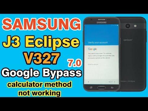 samsung j3 eclipse frp bypass ✅ 7.0 ✅ calculator method not working