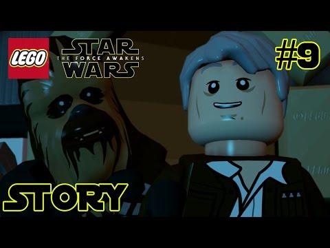 LEGO Star Wars Force Awakens Story #9 The Eravana Part 1  