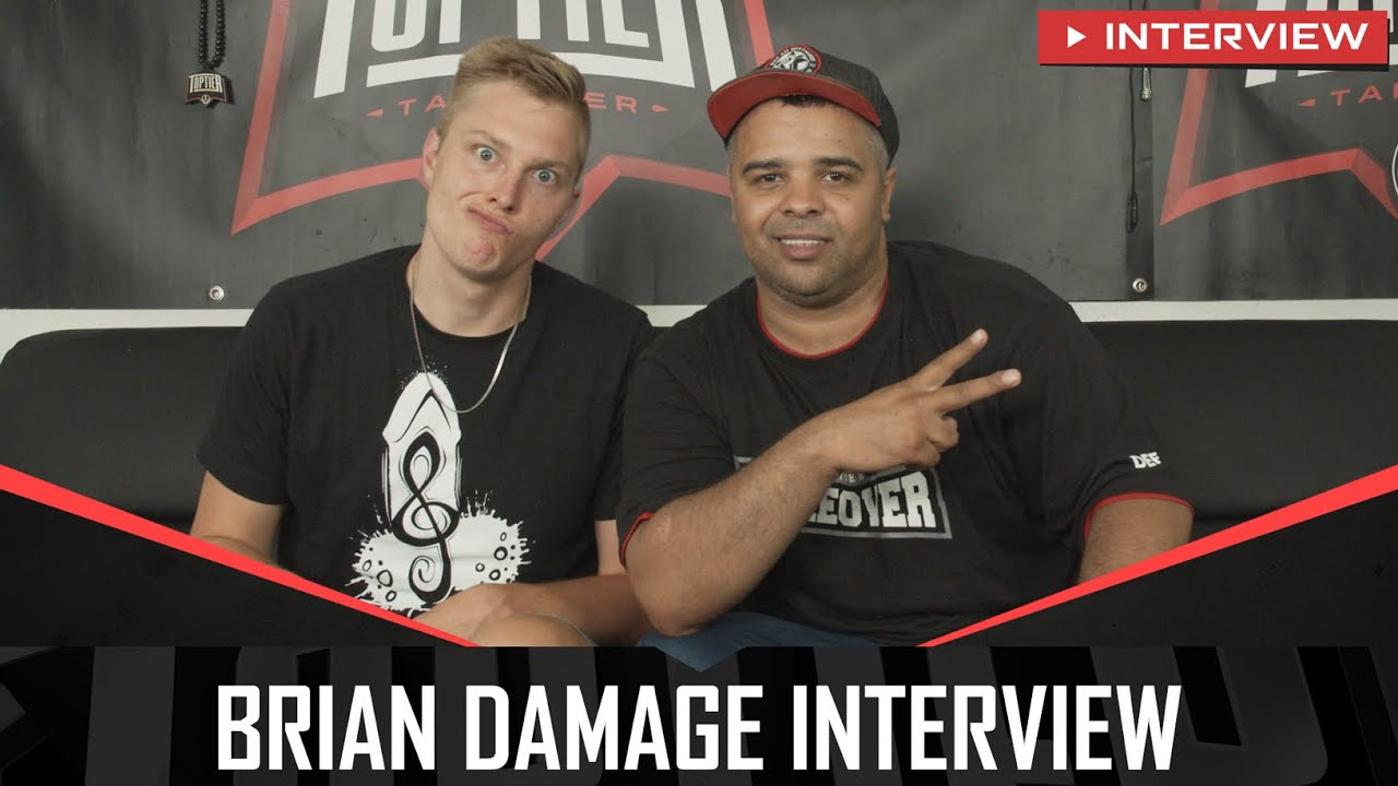 BRIAN DAMAGE Interview über NEDAL NIB, BONG TEGGY, DAVIE JONES, MIGHTY P., VINCI | Toptier Takeover