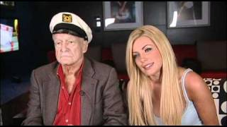 Robin Leach interviews Hugh Hefner and Crystal Harris