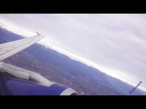Turin Italy  to London Gatwick on British Airways  G-DBCB **LONG VIDEO** UHD 4K