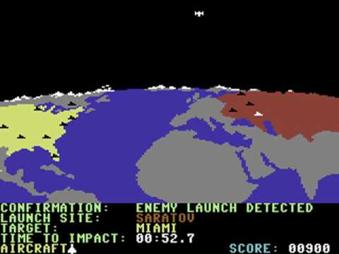 Commodore 64 ~ Raid Over Moscow