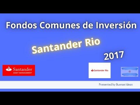 Invertir en FCI Santander Rio