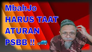 Video Lucu Indonesia, MbahJo Harus Taat Aturan PSBB!!