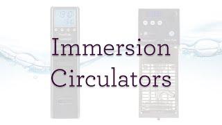 Immersion Circulators