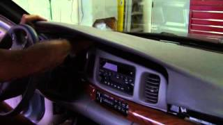 2003 Buick LeSabre Dash Pad Removal and Replacement Part 2