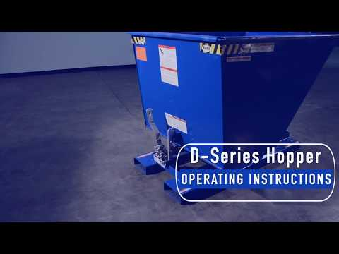 D-Series Hopper Operating Instructions