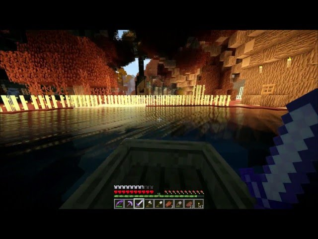 Смотреть прохождение игры Minecraft Big Trees Adventure. Серия 10 - Странная деревня.