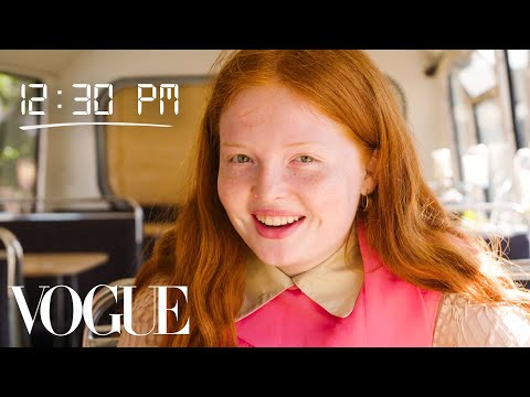 How Model Tess McMillan Gets Runway Ready   Diary of a Model   Vogue