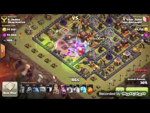 Clash Of Clans - 2 Star Th10 Double Diamond Base