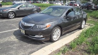 2014 acura rlx review engine start up
