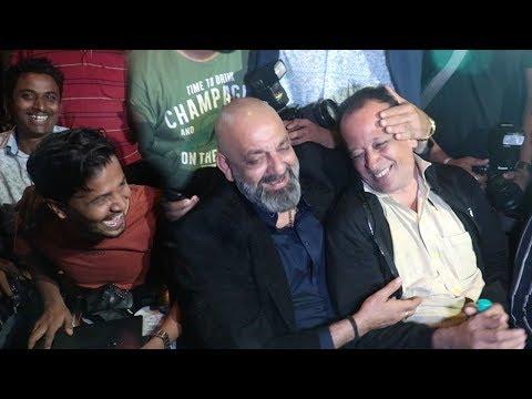 Sanjay Dutt's FUNNY MASTI With Reporters At Priyanka Chopra & Nick Jonas WEDDING Party