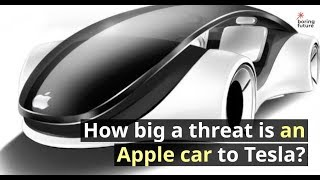 How big a threat is an Apple car to Tesla ?