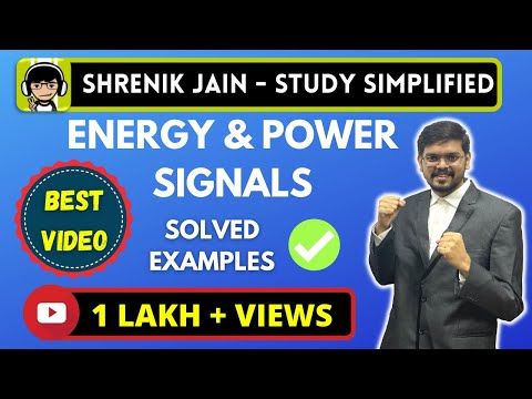 energy and power signals-  SOLVED problems/examples.