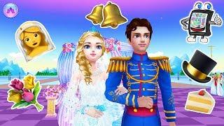 EISPRINZESSIN HOCHZEIT App deutsch | Elsa heiratet ihren Traumprinzen - Nina designt Hochzeitskleid