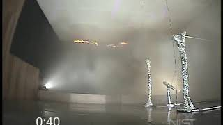 NIST Recreation of  The Station Nightclub FIre  with Sprinklers