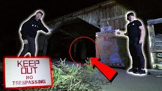 EXPLORING HAUNTED FIELDHOUSE AT NIGHT (La Llorona Ghost)