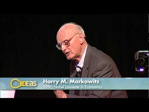 IDEaS-- Nobel Laureate Harry M. Markowitz