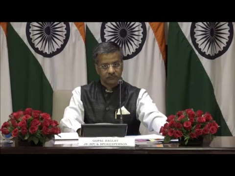 Weekly Media Briefing by Official Spokesperson (April 13, 2017)