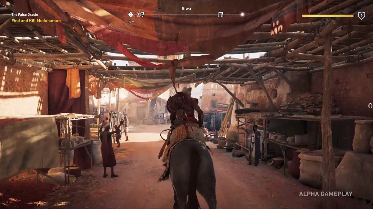 Assassin's Creed Origins Gameplay Walkthrough - YouTube