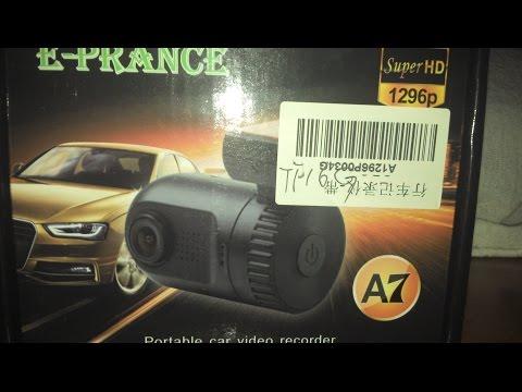 Unboxing E Review DashCam Mini 0803 Ambarella A7 (Car DVR)