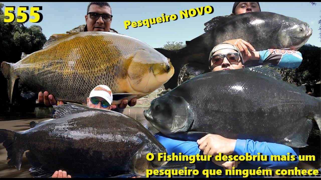 Cachoeira das Lajes - Mais um pesqueiro que o Fishingtur descobriu - Fishingtur na TV 555