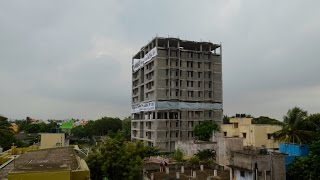Bringing down Trust Heights at Moulivakkam