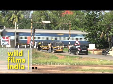 Streets Of Alleppey In Kerala
