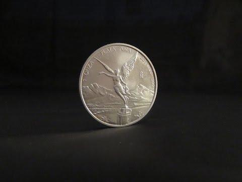 Mexican Libertad silver coin