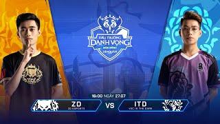 ZD Esports vs VEC In The Dark [Vòng 1- 27/07] - Đấu Trường Danh Vọng Mùa Đông 2019