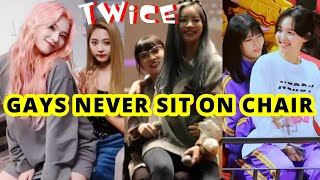Download lagu TWICE GAYS NEVER SIT ON CHAIR