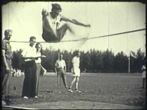 Atletik - Landsstævne 1947 i Odense