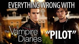 Everything Wrong With The Vampire Diaries