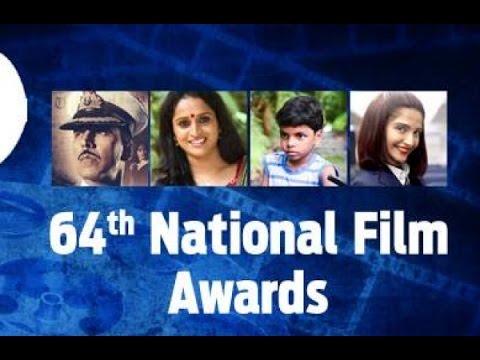 64th National Film Awards 2017 || Indian Film Awards || Winner List || Funny Raku